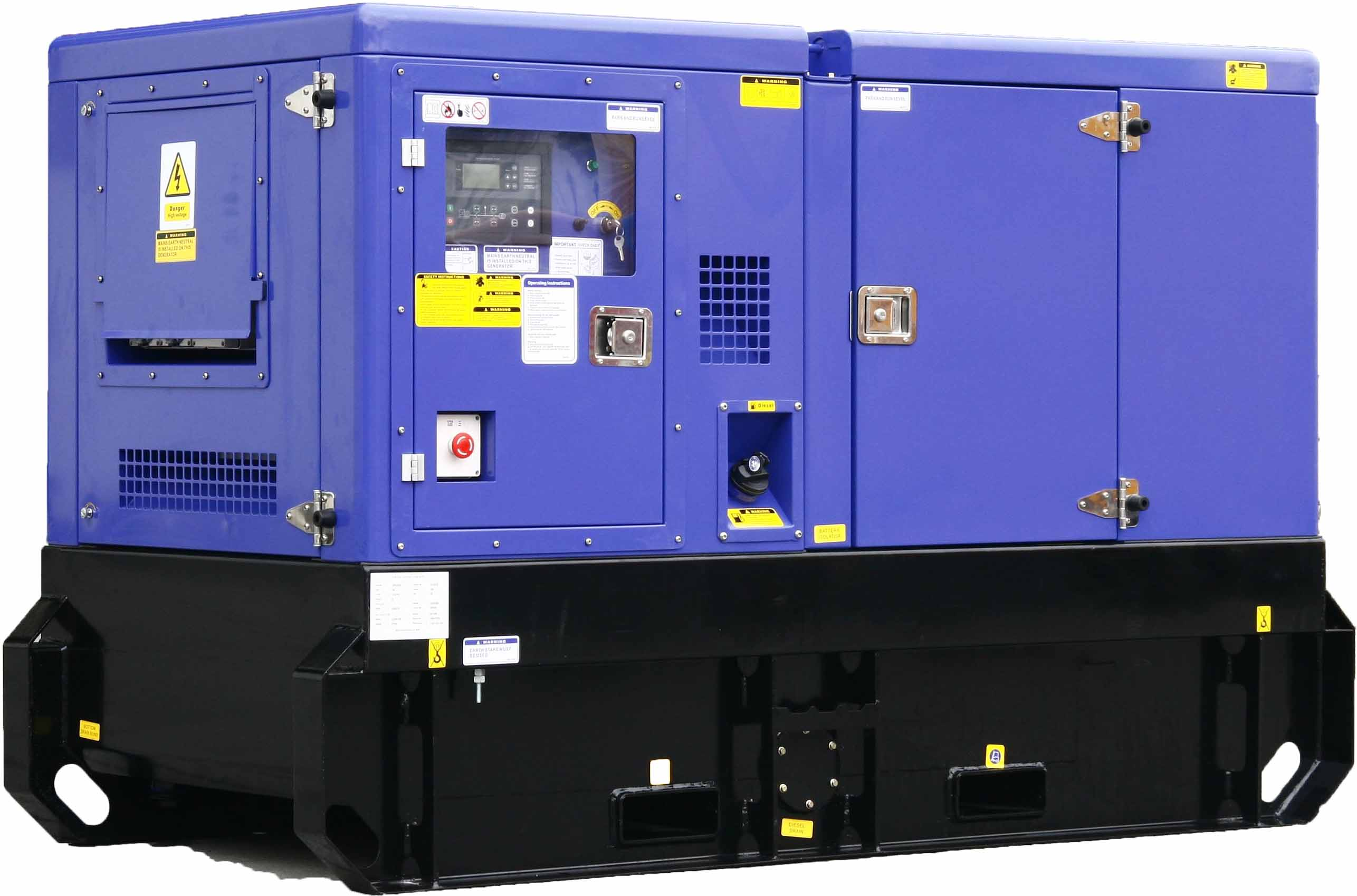 Generator with 48 hour Fuel Tank